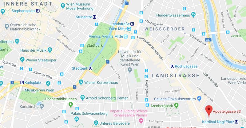 Adresse: Apostelgasse 33, 1030 Wien